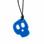 Skull Pendant - 'Brain Freeze' (Blue) - Chewigem